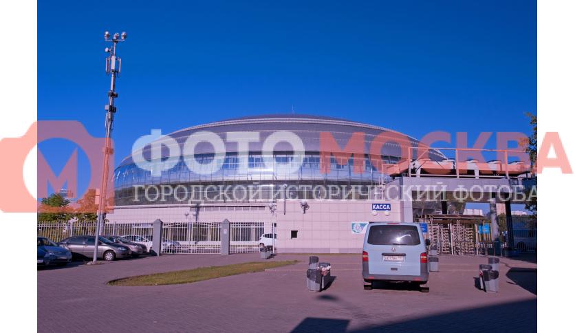 Вход в «Динамо» в Крылатском