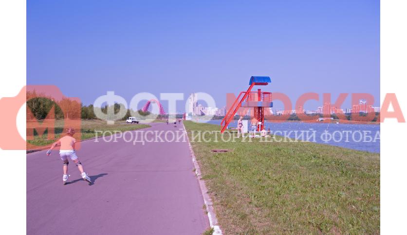 Территория спортивного центра «Крылатское»