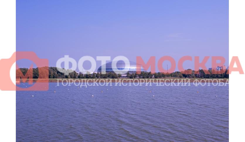 Вид на «Динамо» в Крылатском