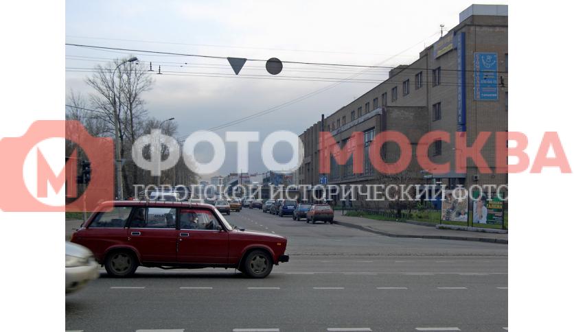 Пересечение Электродной ул. и шоссе Энтузиастов