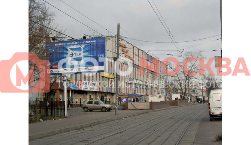 Окрестности метро Шоссе Энтузиастов