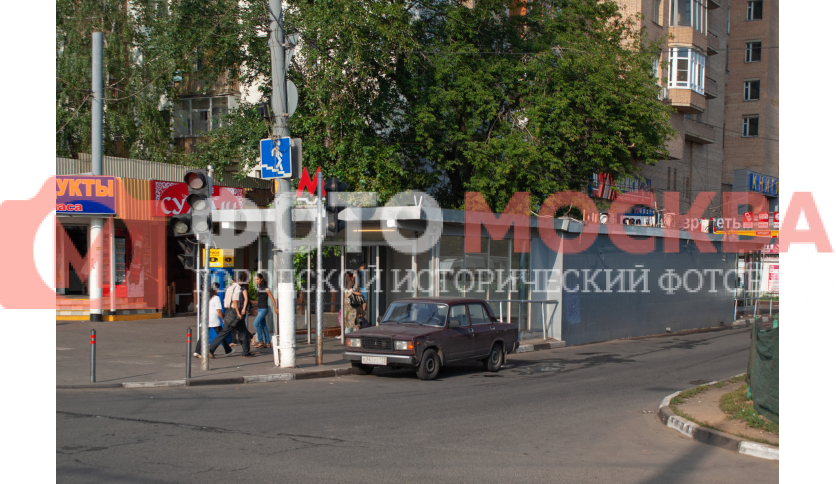 Вход № 5 метро «Кузьминки»