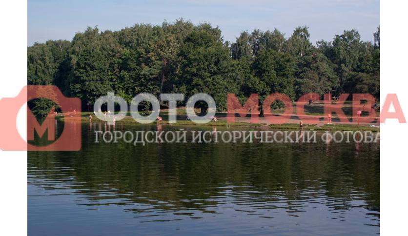 Пляж у Шибаевского пруда