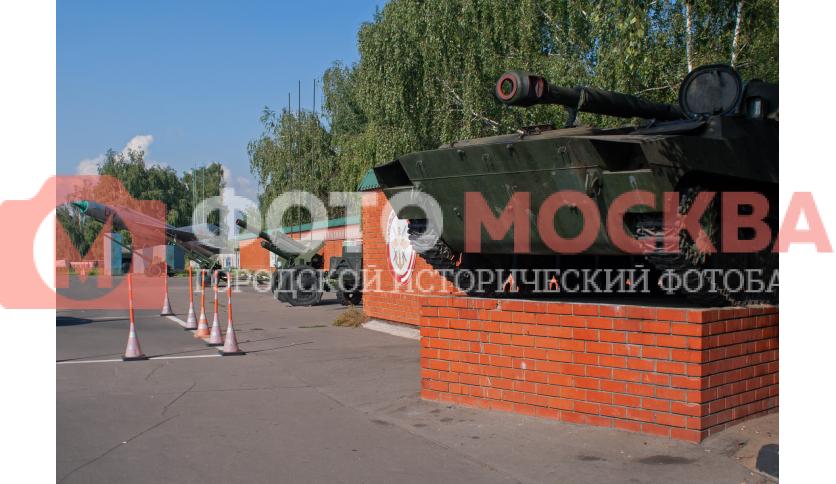 Военная техника на территории УСЦ ДОСААФ ЮВАО