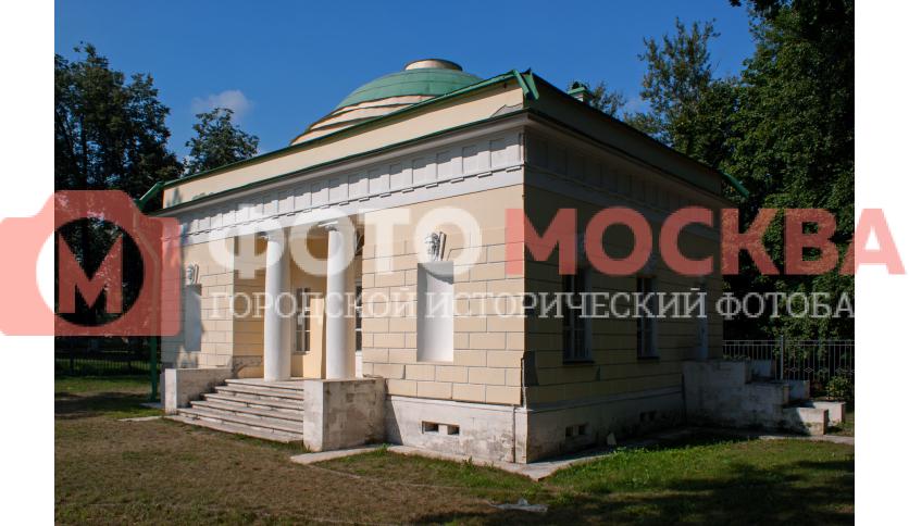 Фасад Ванного домика