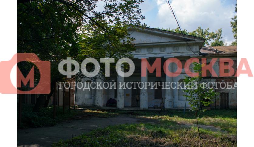 Портик Померанцевой оранжереи