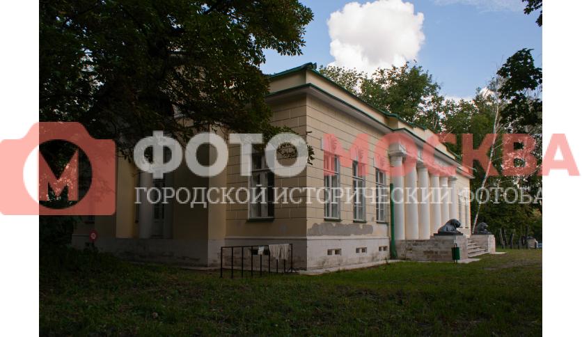 Правый флигель усадьбы Кузьминки