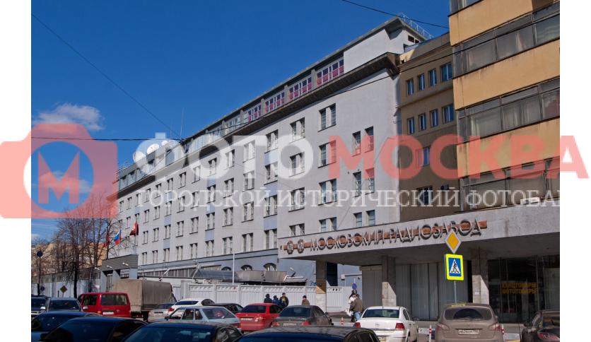 Здание телеканала «ТВЦ»