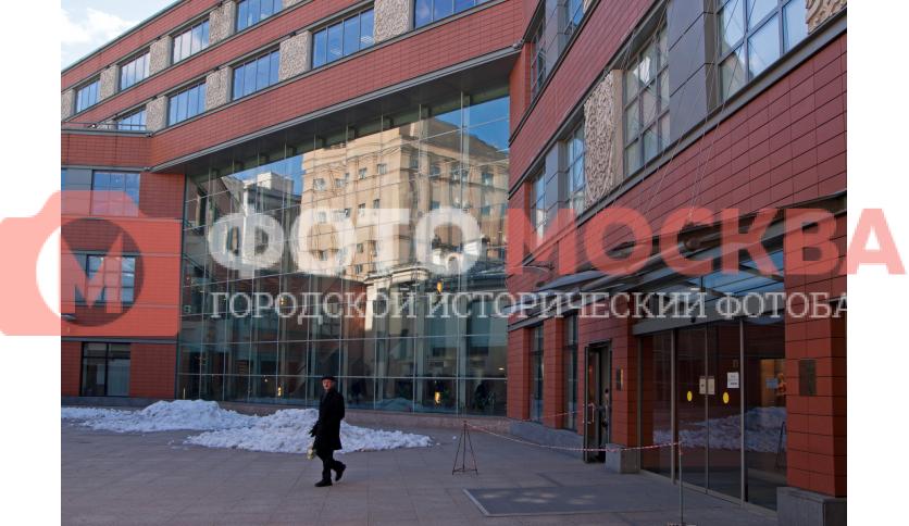 Фасад ТЦ «Аркадия»
