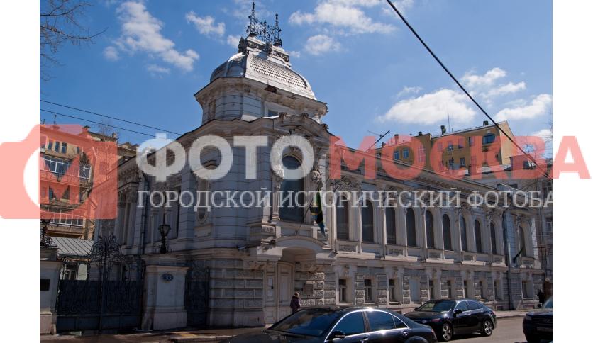 Вид на особняк Т.И. Коробкова