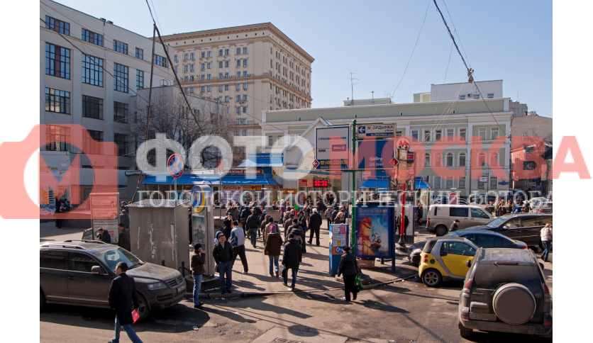 Площадь у «Третьяковской»