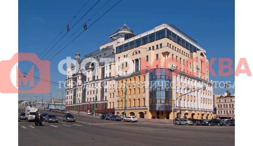 Вид на здание управления Банка России по ЦФО