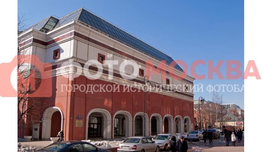 Корпус Третьяковской галереи