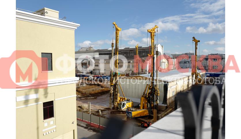 Реконструкция ГЭС-2 на Болотной набережной в центре Москвы