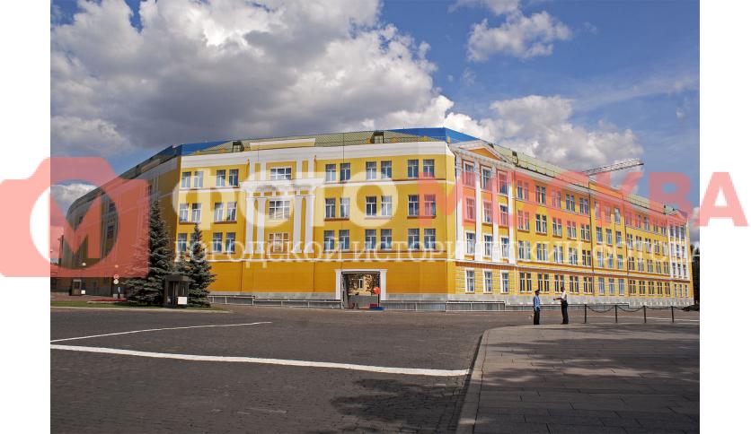 14 корпус Московского Кремля на реставрации