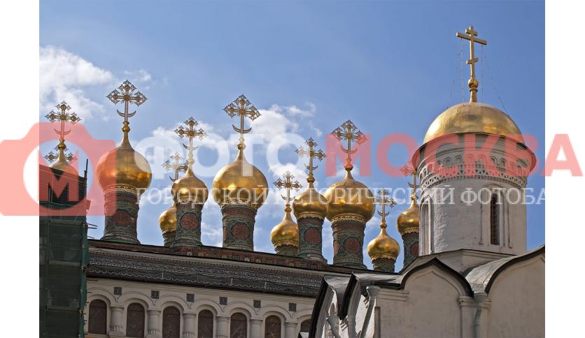Купола церкви Ризоположения Пресвятой Богородицы