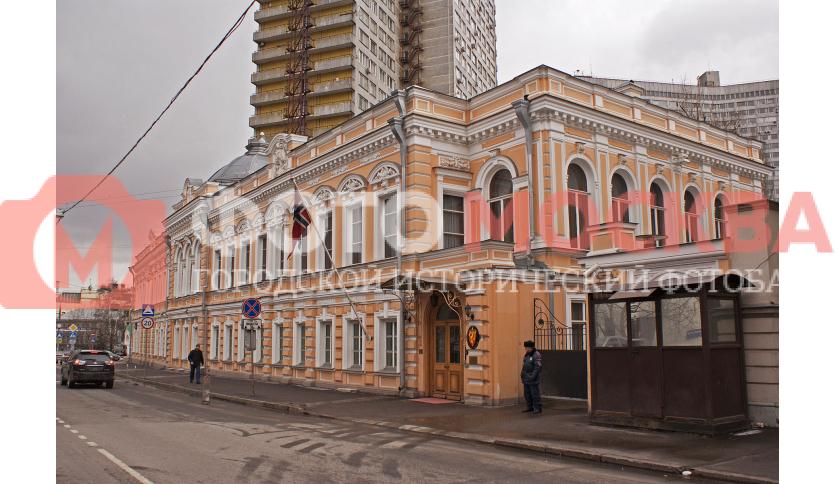 Посольство Норвегии (Главный дом усадьбы Грачёвых)