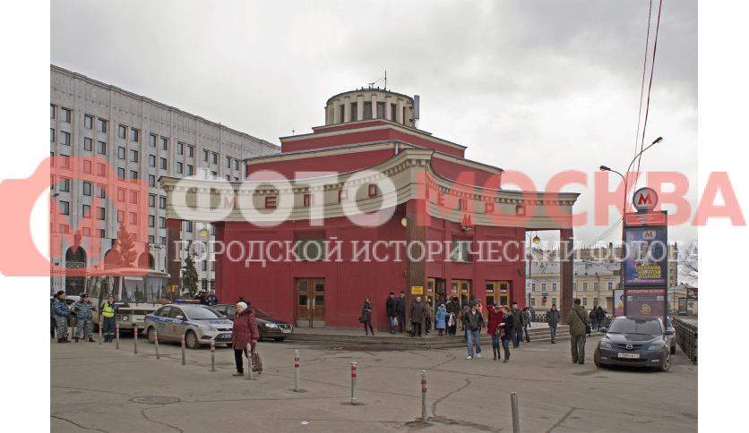 Станция метро Арбатская, филевской линии