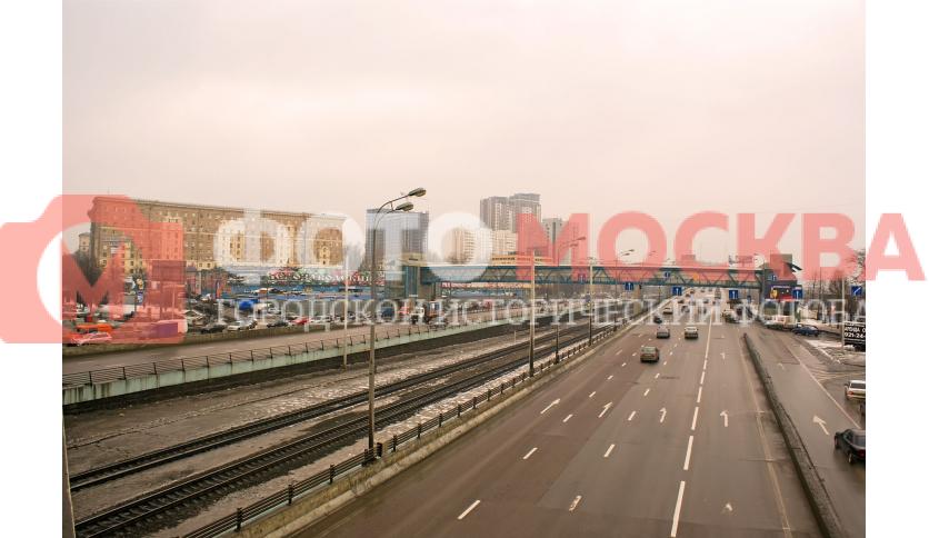 Третье Транспортное Кольцо в районе Велозаводского рынка