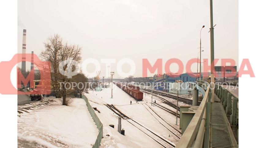 Не функционирующая станция Кожухово МКМЖД
