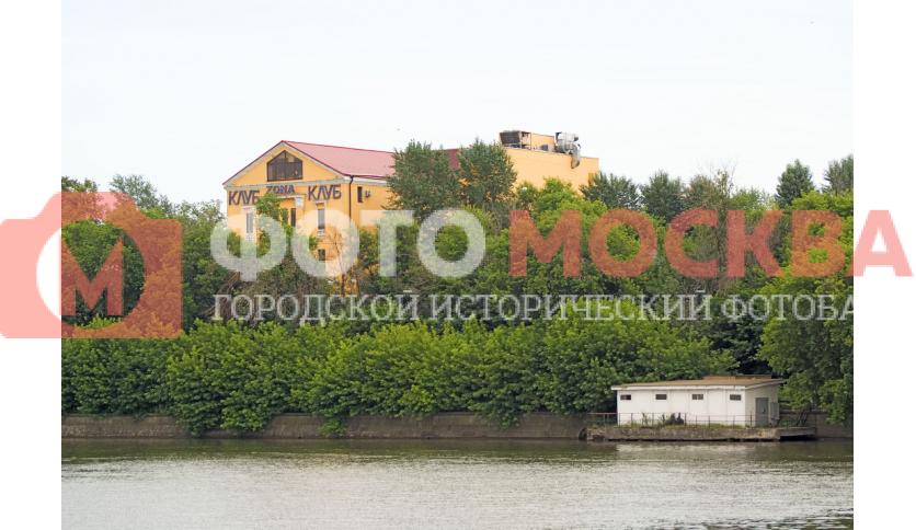 Москва-река близ клуба