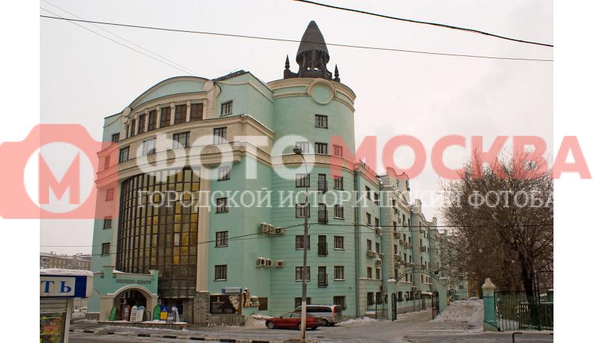 Бизнес-центр на 1-м Автозаводском проезде, д. 4, корп. 1