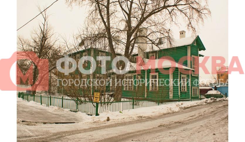 Ленинская слобода, дом 21/3 - остатки старой деревянной Москвы