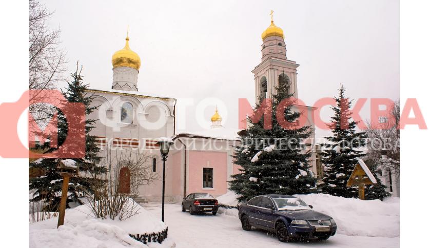 Храм Рождества Богородицы в Старом Симонове