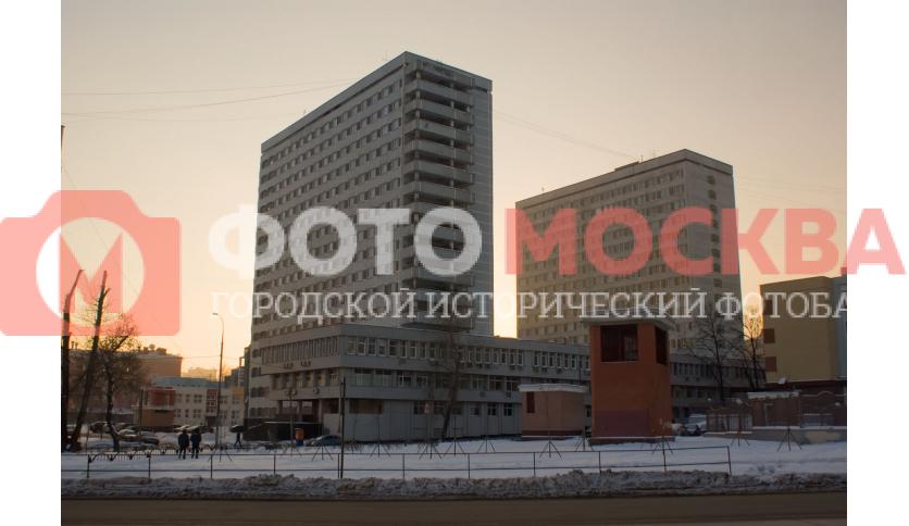 Корпуса общежитий № 10 и 11 при МГТУ им. Баумана