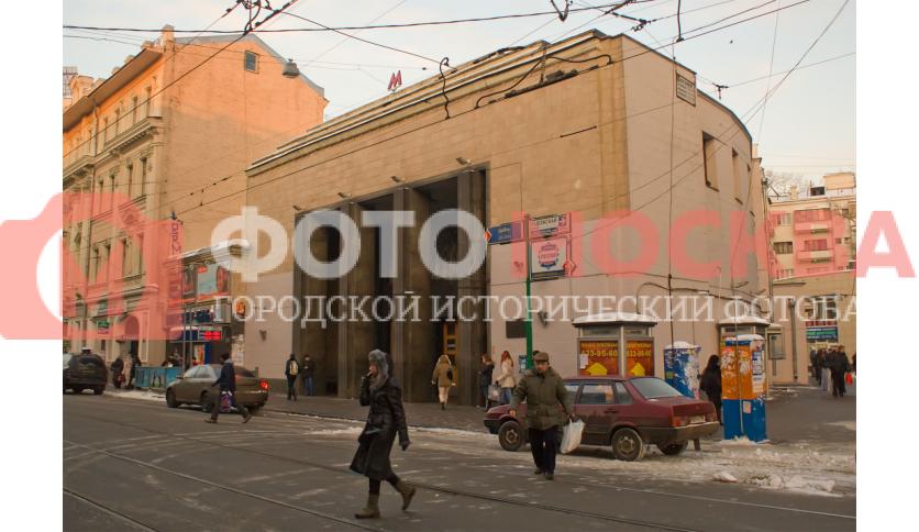 Станция метро Бауманская