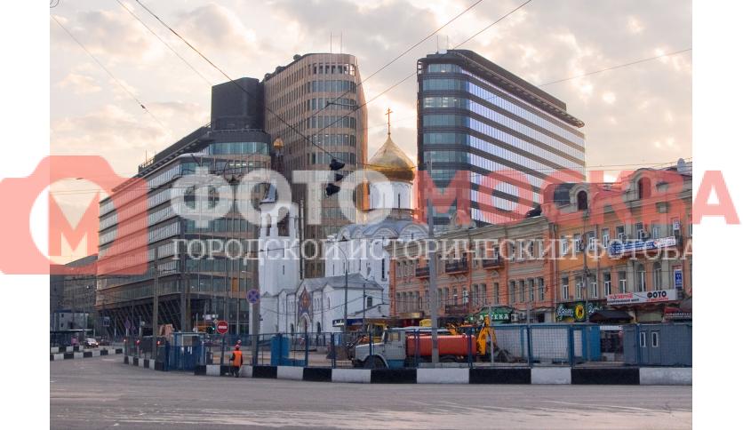 Окрестности северного выхода из метро Белорусской