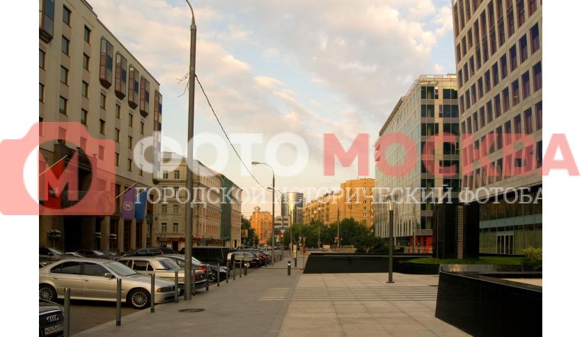 Улица Большая Грузинская в районе 1-й Тверской-Ямской