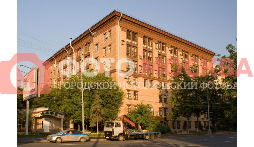 Мосгоргеотрест на Ленинградском проспекте, дом 11