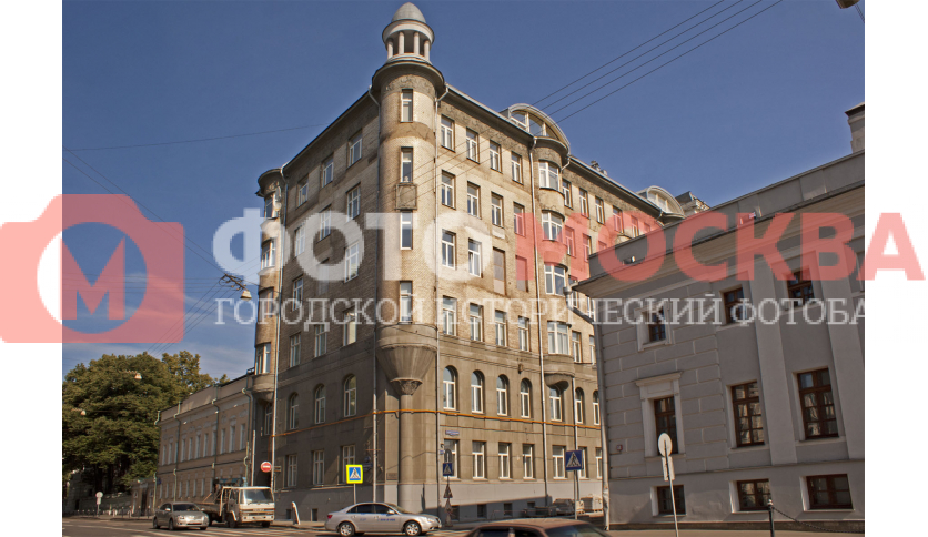 Бывший доходный дом Л.В. Шамшиной