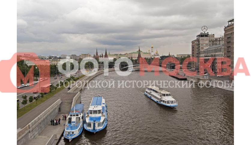 Москва-река и Большой Каменный мост