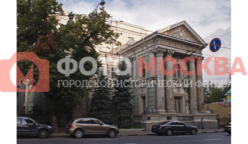 Бывший особняк М.И. фон Рекк