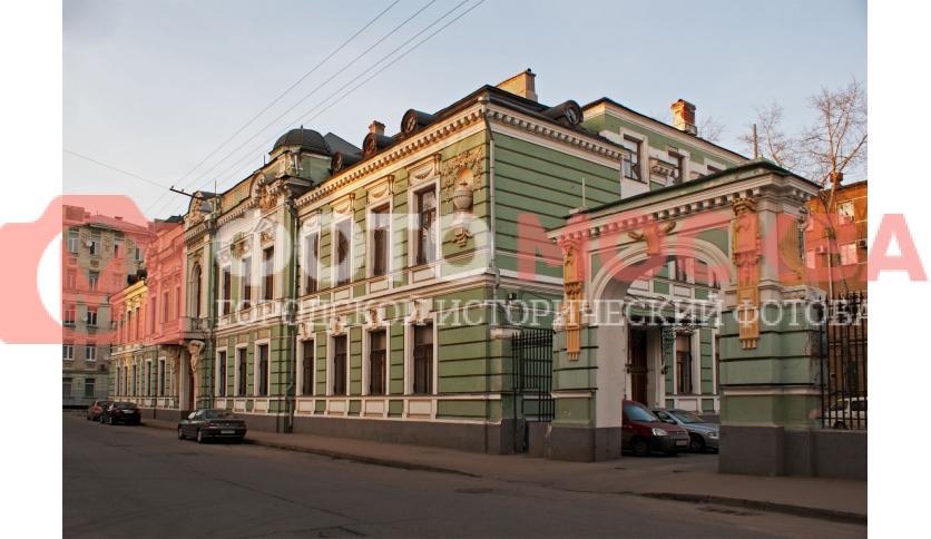 Главный дом городской усадьбы В.Е. Морозова