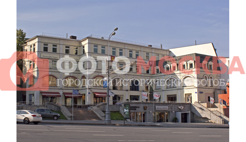 Представительства компаний Zegna, Bentley, Mazerati, Ferrari и Lamborghini в Москве