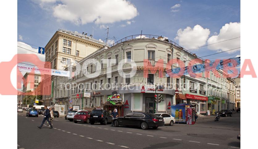 Здание бывшей гостиницы Т. Ярда с рестораном «Яр»