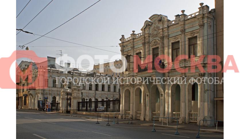 Бывшая усадьба Ф.В. Растопчина и Д. Пожарского