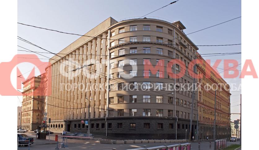 ФСБ (старое здание), вид с площади Воровского