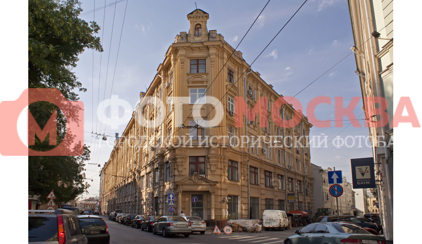 Бывшая Большая Сибирская гостиница