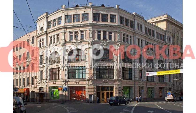 Бывший торговый дом Товарищества М.С. Кузнецова