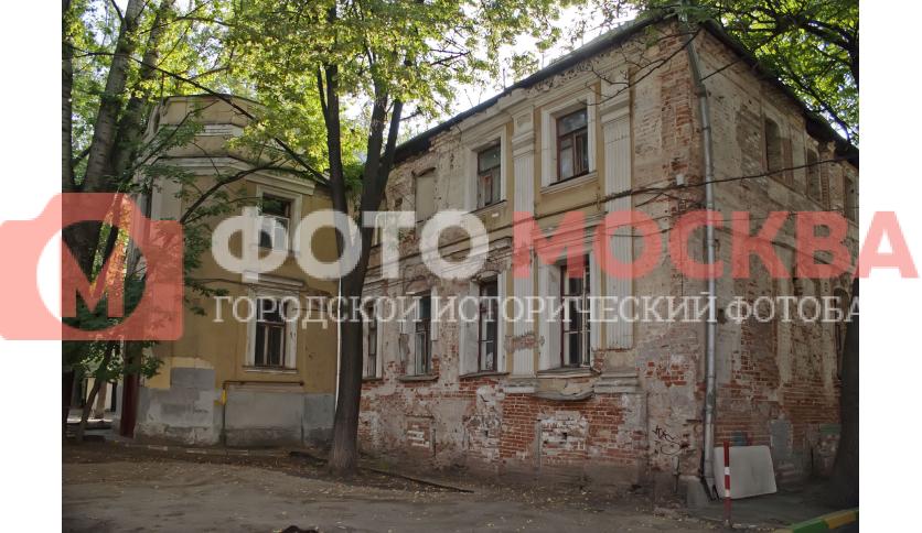 Бывший главный дом усадьбы Голицыных