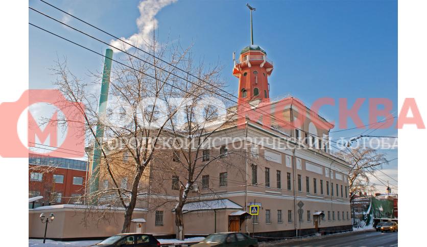 Бывший Рогожский полицейский дом с пожарной каланчой