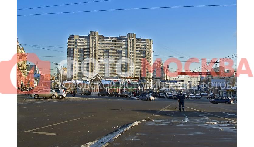 Таганская площадь в районе выхода из метро Марксистская
