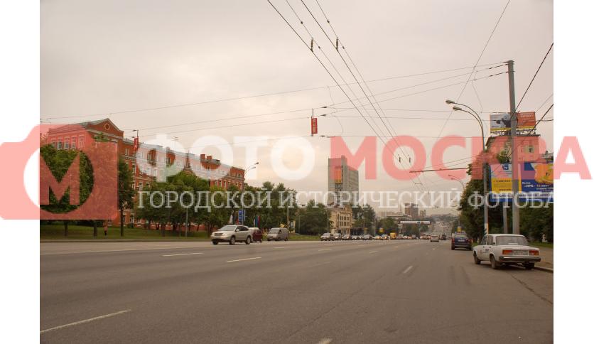 Варшавское шоссе в районе МАЭП