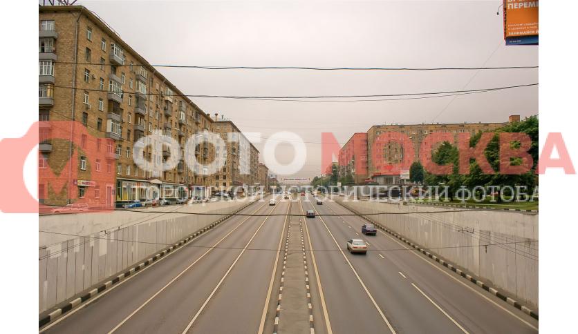 Начало Каширского шоссе