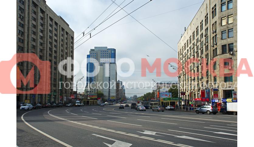 Начало Ленинского Проспекта