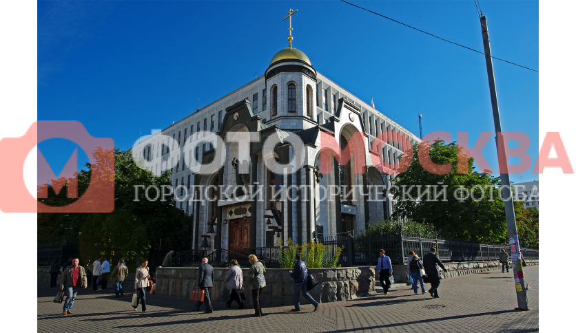 Часовня-храм во имя Казанской иконы Божией Матери